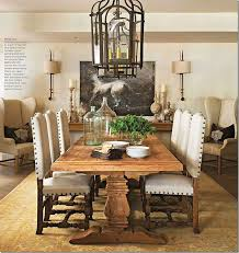 Grand Spanish Style Dining Room Furniture EBBE16