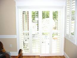 Glass Door plantation shutters for sliding glass door photos : Modernize Your Sliding Glass Door With Plantation Shutters Ideas ...