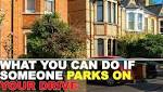 Do you park on your drive every day? It could be illegal