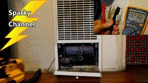 wall heater repair it was the thermostat and how to troubleshoot wall heaters you