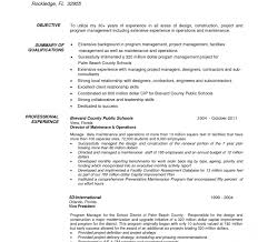 Sample It Project Manager Resume Interesting Project Manager Cv Template Word Construction R Ukashturka
