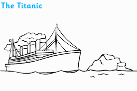 Small Picture Titanic Coloring Pages Sinking ALLMADECINE Weddings Titanic