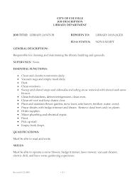 Sample Janitorial Resume Janitorial Resume Sample Janitorial Resume