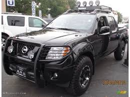 2012 Nissan Frontier Light Bar Black Nissan Frontier With Brush Guard And Wilderness Roof