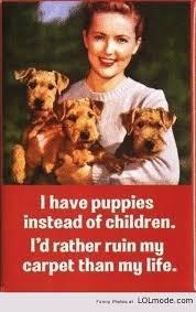 Eγώ έχω puppies..