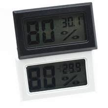 mini multifunctional thermometer hygrometer portable humidity temperature meter gauge max min value lcd display