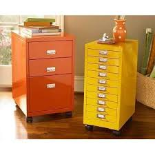 yellow and orange painted file cabinets home office organization for office metal file cabinets the amazing amazing office organization
