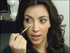 see the amazing kim kardashian smokey eye for day time look this is a very