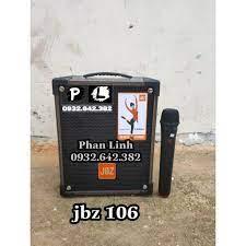 s1 Loa Kéo Di Động JBZ NE-106 Loa Karaoke 2 Tấc - 1067