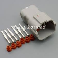 10sets 5 pin automotive waterproof wire connector 1 1718806 1 car 50sets 6 pin 2 0mm car taillight male connector plug 6 way auto waterproof electrical socket