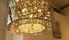 creative co op chandelier creative co op metal wood beads