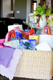 sympathy gift basket idea this is so smart sending necessities to those who ve recently lost someone