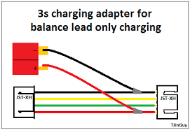 lipo (lithium ion polymer) batteries how to use and care Lipo Battery Wiring Diagram b1 deans (t) type main connector female & male used for main connection to speed controllers and motors used for medium to high current draw 7.4v lipo battery wiring diagram