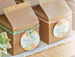 Personalized Wedding Favor Boxes With Monogram