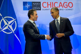barack obama essay obama wrote an essay about feminism for glamour  u s department of defense photo essay u s president barack obama right thanks nato secretary general anders