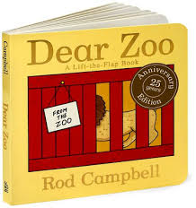 the character of a book writes the letter to the zoo asking for a pet and every time they send him something surprisingly uning