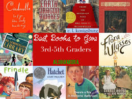 the best books to give a third 3rd fourth 4th or fifth