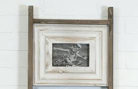 collage frame wood distressed wood ladder collage frame wooden heart collage photo frame