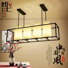 get ations jiao seven new chinese restaurant retro living room chandelier lighting chandelier antique wrought iron chandelier rectangular