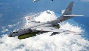 Military and Commercial Technology: China's H-6 heavy bomber to be armed  with hypersonic missiles