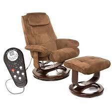 massage chair for kids. relaxzen reclining massage chair and ottoman, brown microseude for kids s