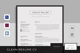 resume templates creative market resume cv