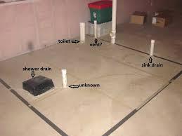 basement bathroom plumbing basement bathroom pump up plumbing