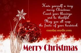 Christmas Blessing Quotes Simple Merry Christmas Quotes Wishes SMS Greetings W Images 48