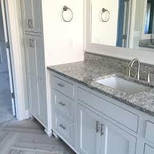 verona white granite master bathroom