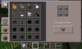 how to make a stonecutter in minecraft. Minecraft_Pocket-Edition_craft How To Make A Stonecutter In Minecraft E