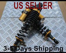 yamaha zuma 50 plastics. rear shock absorbers 340mm yamaha zuma 50 125cc - black free shipping (fits: plastics