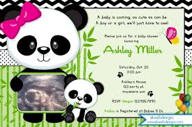 Panda Baby Shower Banner Its A Boy Banner Blue Black And White Panda Baby Shower Theme