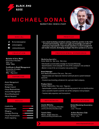 Free Colorful Resume Templates 100 Most Professional Editable Resume Templates For Jobseekers 96