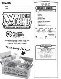 Which Wich Sandwich Order Form - Fill Online, Printable, Fillable ...