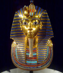 someone broke king tut s mask and glued it back together badly tutankhamun s gold funeral mask pre breakage photo by the laird of oldham