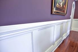 wainscoting. White Wainscoting In Dining Room