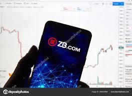 Zb Com Cryptocurrency Exchange Logo Stock Editorial Photo
