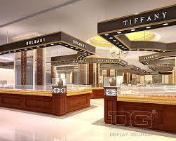 Jewelry Store Interior Design Custom Decoration