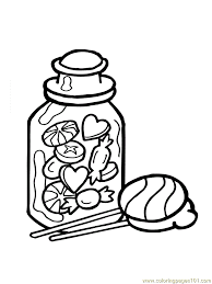 Small Picture Candy Corn Coloring Page Coloring Home