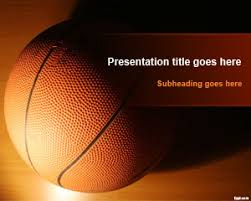 Basketball Powerpoint Template Free Basketball Training Powerpoint Template