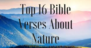 Bible Quotes About Beauty Of Nature Best of Top 24 Bible Verses About Nature ChristianQuotes