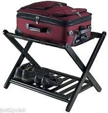 white luggage rack luggage rack for bedroom wooden luggage rack stand holder hotel bedroom folding suitcase white luggage rack