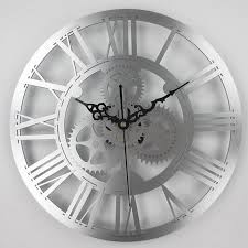 european antique gear wall clock vintage mechanical gear clock large wall for art home living room