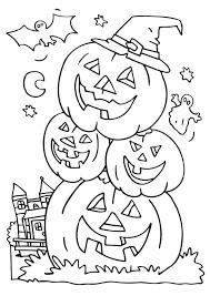 Free Printable Coloring Pages Halloween Kyudojoinfo