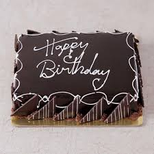 Chocolate Cake With Chocolate Fence 1 Kg Order Cakes Online