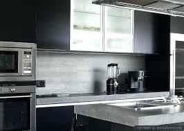 black and white countertops black kitchen modern black cabinets gray tile white kitchen cabinets black black black and white countertops