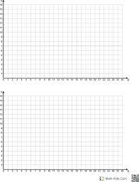 Quadrant 1 Graph Math Graph Paper First Quadrant Only Math