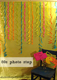 Eagle Party Decorations 80s Party Big Reveal Tons Of 80s Party Ideas
