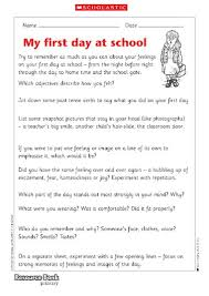 essay my first day at school co my first day at school planning a poem primary ks2 essay