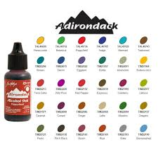 Adirondack Alcohol Ink Colour Chart 65 Faithful Ranger Alcohol Ink Color Chart